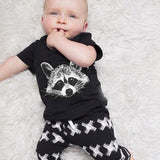Raccoon 2 Piece Outfit