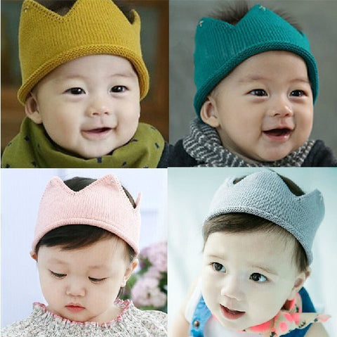 Baby Knit Crown