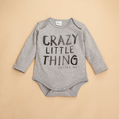 Crazy Little Thing Long Sleeve Onesie