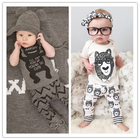 Hipster Baby 2 piece set - Short Sleeve