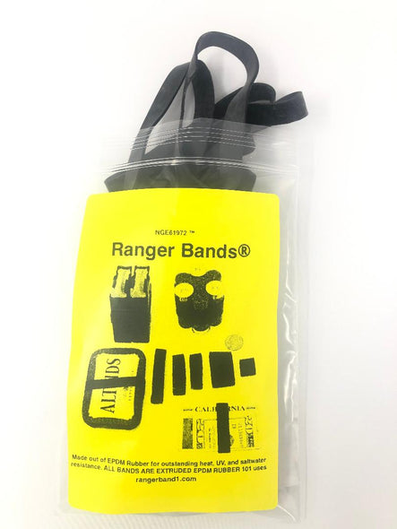 Ranger Bands® 15 LG EX Made in the USA from EPDM Rubber Heavy Duty Survival Gear