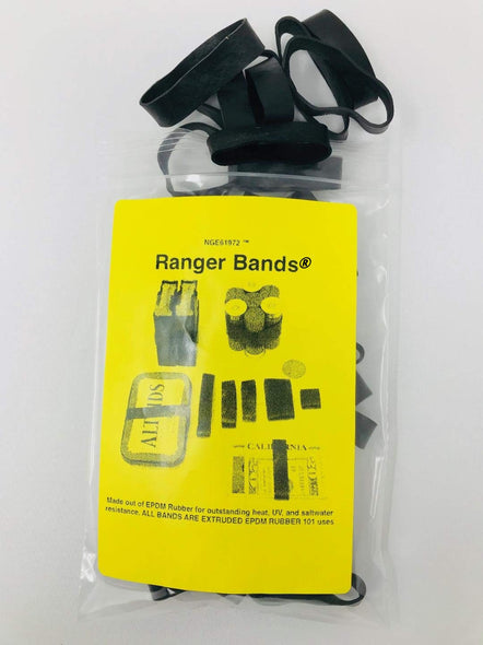Ranger Bands® Bag of 24 Mixed Made From EPDM Rubber Survival & Strapping Gear  USA  NGE61972 ™