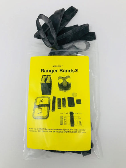 Ranger Bands® 17 LG EX Count Made from EPDM Rubber for Survival and Strapping Gear Made in The USA NGE61972
