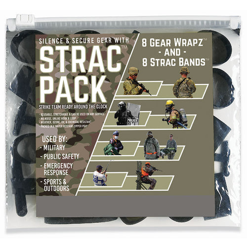 Alliance STRAC (Strike Team Ready Around the Clock) Combo Pack, 16 count  EPDM Rubberbands  Gear Wrapz