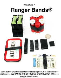 Ranger Bands® 45 Small Made From EPDM Rubber Survival & Strapping Gear  USA  NGE61972 ™