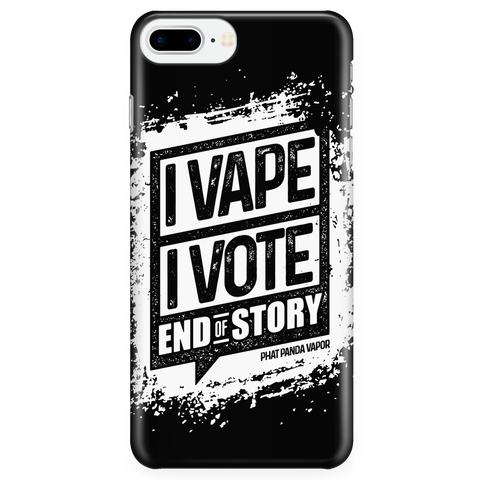 I VAPE I VOTE Phone Case