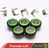 10pcs/lot Prebuilt Coils
