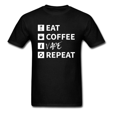 Eat Coffee Vape Repeat T-Shirt