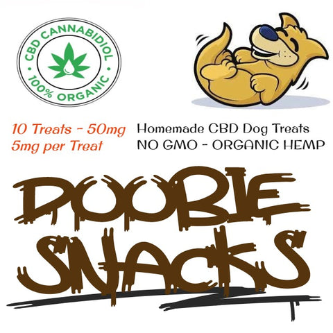 Doobie Snacks - 50mg CBD Dog Treats