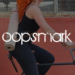 oopsmark leather yoga strap