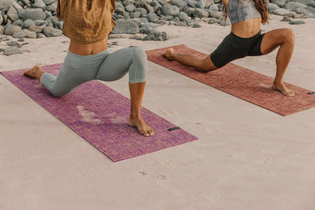 Body Mind Connect Yoga Mat- Burgundy