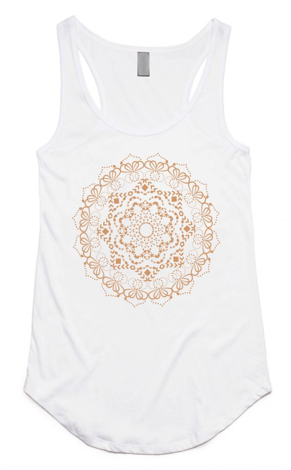 Free Spirit Isha Mandala Yoga Top