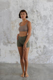 organic Cotton Yoga Shorts