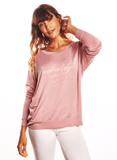 Be Love 'Breathe Love' Ultra Soft Long Sleeve Yoga Top Long Sleeves Be Love Apparel