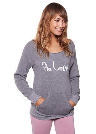 Be Love Signature - Eco Fleece Pullover Long Sleeves Be Love Apparel