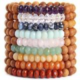 Chakra Wrist Mala Jewellery Blooming Lotus Jewellery