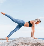 Free Spirit - Hamsa Eco Yoga Leggings Leggings Free Spirit