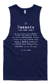 Free Spirit Namaste Bamboo Yoga Top- Navy Tanks Free Spirit