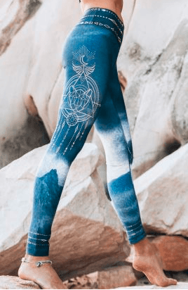 Free Spirit - Pachamama Eco Yoga Leggings Leggings Free Spirit