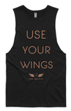 Free Spirit Use Your Wings Bamboo Yoga Top Tanks Free Spirit