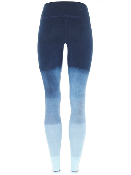 Mandala Yoga Wear - Blue Night Cotton Leggings Leggings Mandala