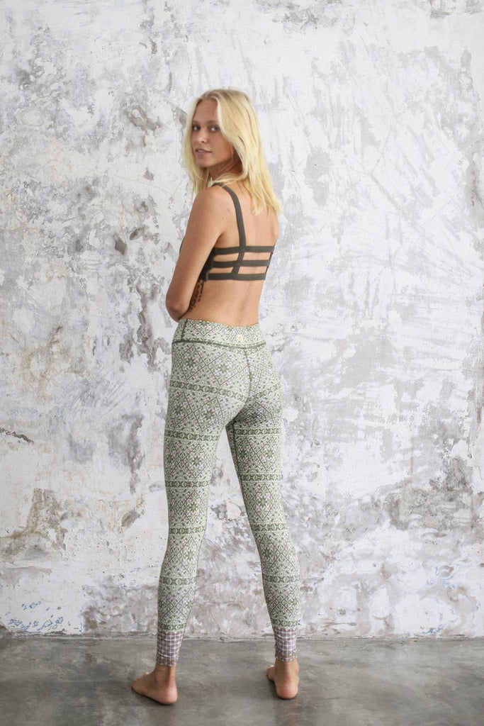 Maya Rani Green Yoga Leggings- Indigo Luna Leggings Indigo Luna