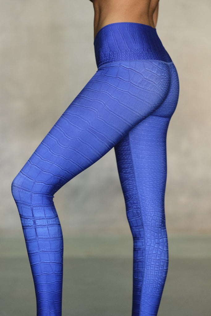NiyamaSOL Electric Croc Leggings Leggings NiyamaSOL