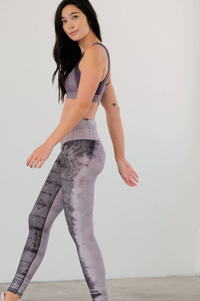 NiyamaSOL Lavender Latte Ashbury Leggings Leggings NiyamaSOL