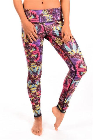 Third Eye Threads - Eco- Light Ayahuasca Leggings Leggings Third Eye Threads