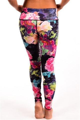 Third Eye Threads -Eco-Light Garden of Love Leggings Leggings Third Eye Threads