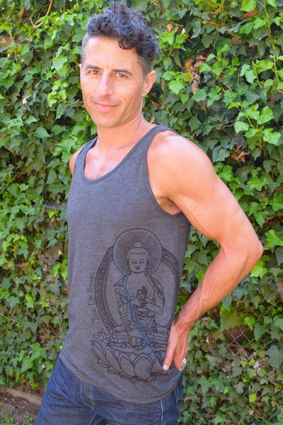 Third Eye Threads Yoga Tank with Buddha Tanks Third Eye Threads