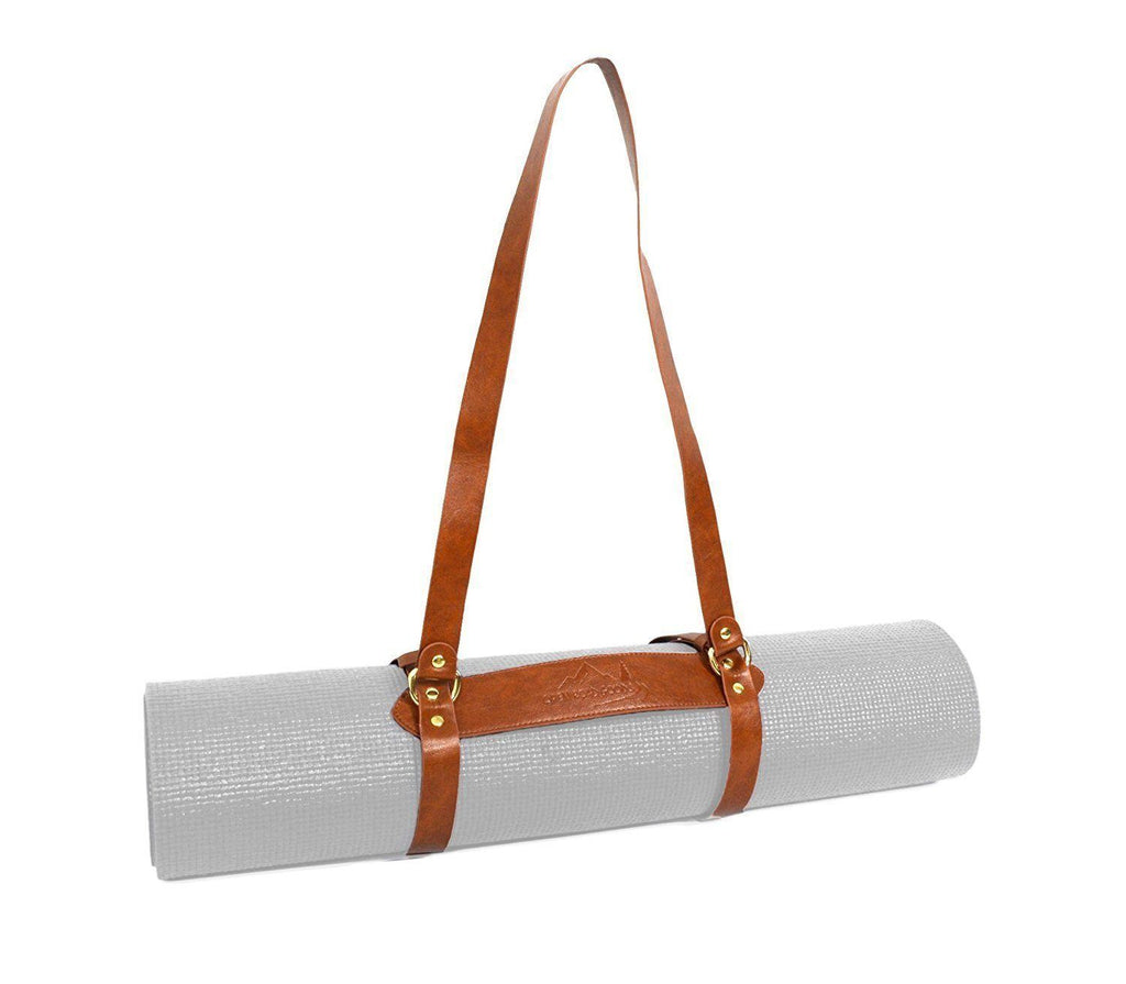 Vegan Leather Yoga Mat Strap Mat strap West Path