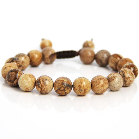 Warrior Wrist Mala - Mens Jewellery Blooming Lotus Jewellery
