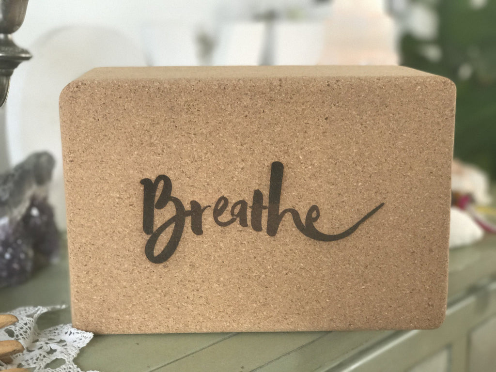 Yoga Tribe Yoga Block- Breathe Yoga Block YogaTribe