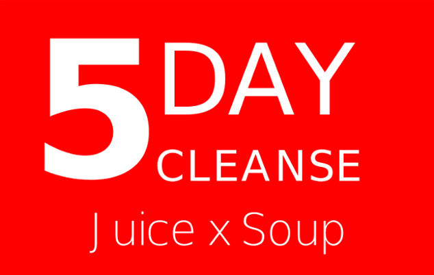 5 Day Cleanse Juice X Soup