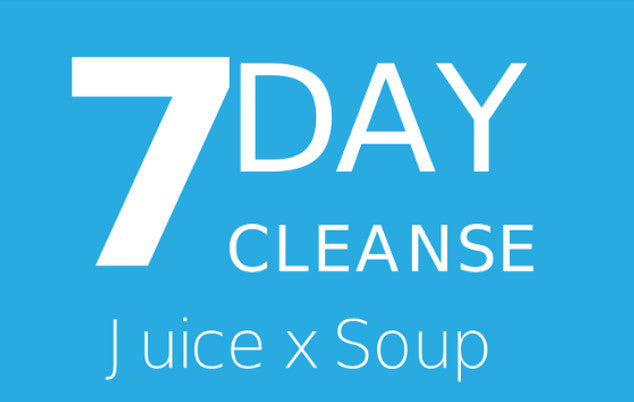 7 Day Cleanse Juice X Soup
