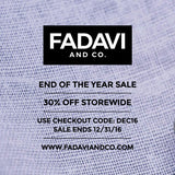End of the Year Sale: 30% Off