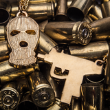 Ski Mask & Uzi Chain Set Now Available!
