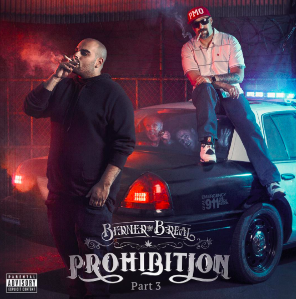 Berner & B-Real - Prohibition 3 album cover