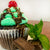 Chocolate Grasshopper Martini Cupcake