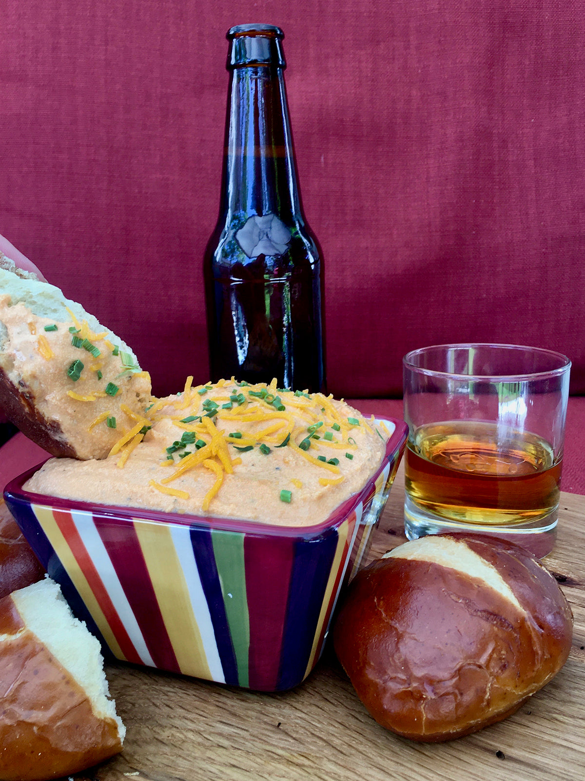 Frat Boy™ Beer & Bourbon Cheese Spread