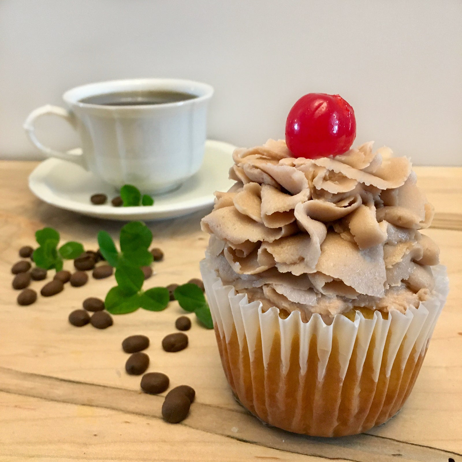 Black Irish Coffee Cupcake
