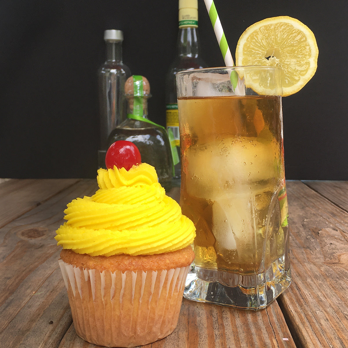 Long Island Iced Tea Cupcake