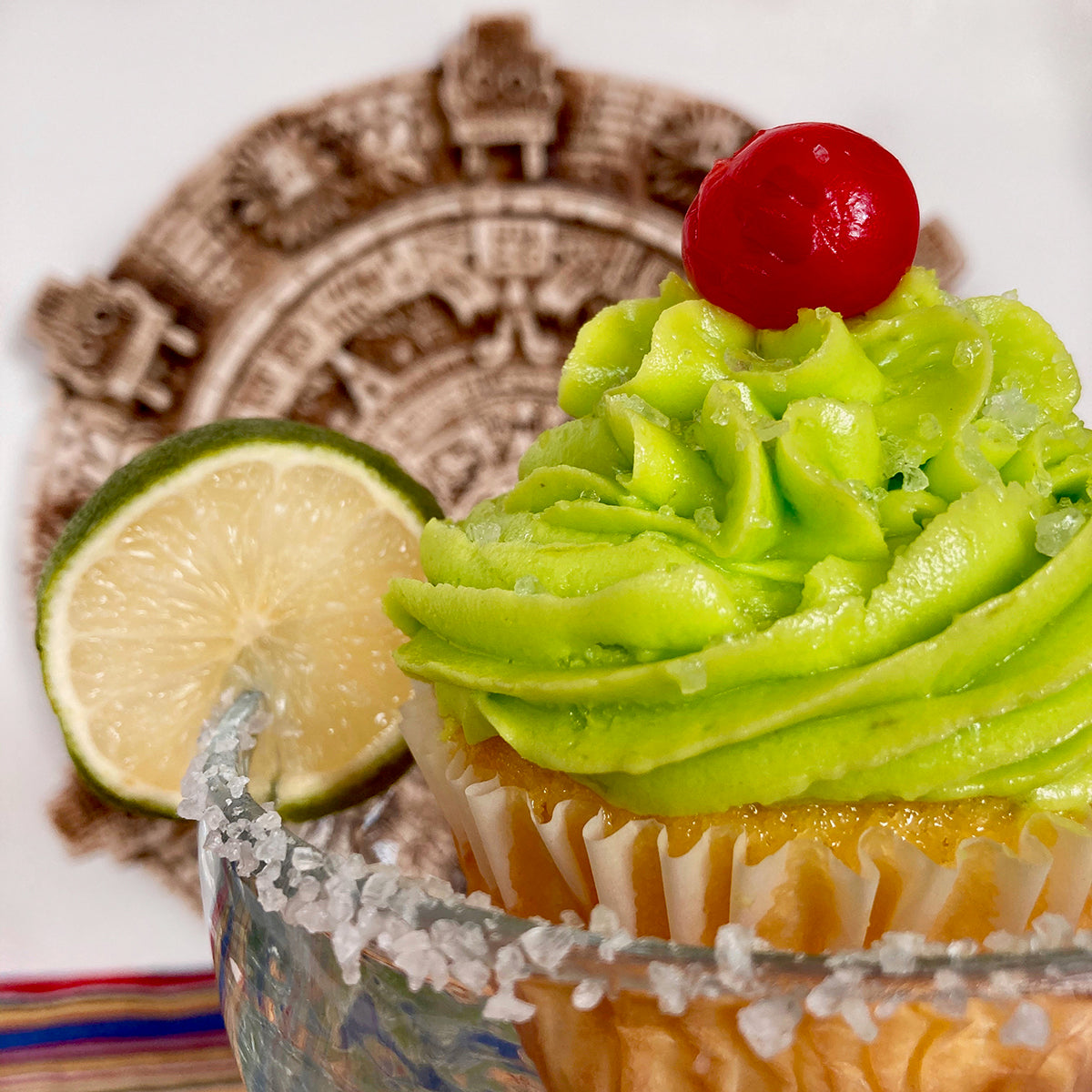 Salted Lime Margarita Cupcake