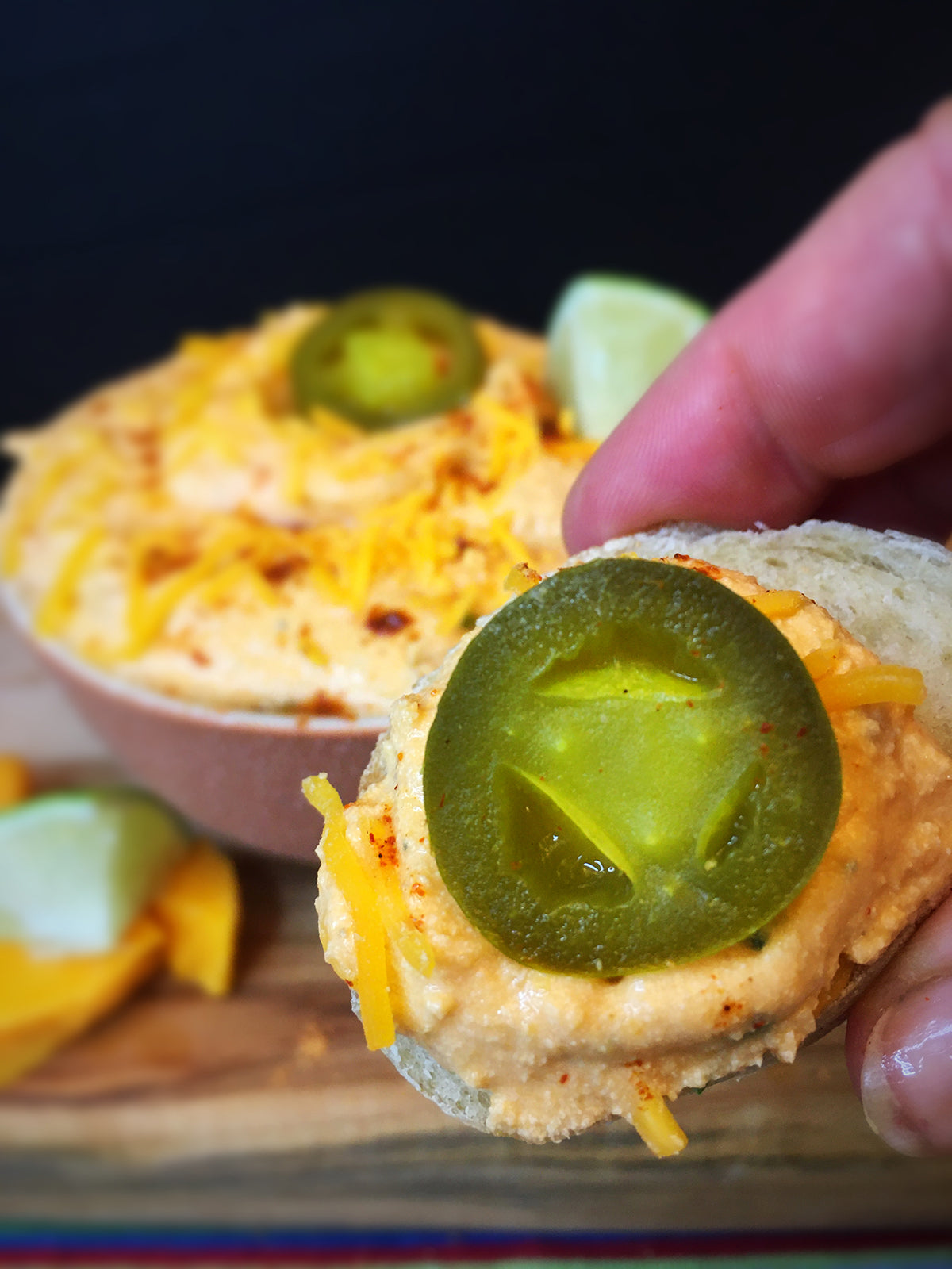 Mariachi Trio™: Jalapeno Lime Tequila Cheese Spread