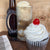 Adult Root Beer Float Martini Cupcake