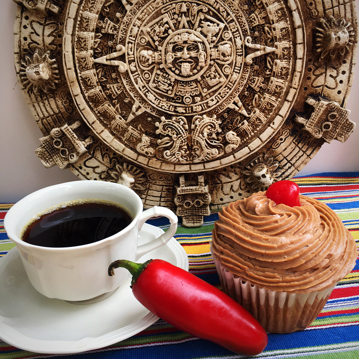 Spicy Mexican Coffee Cupcake