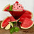 Watermelon Lime Basil Martini Cupcake