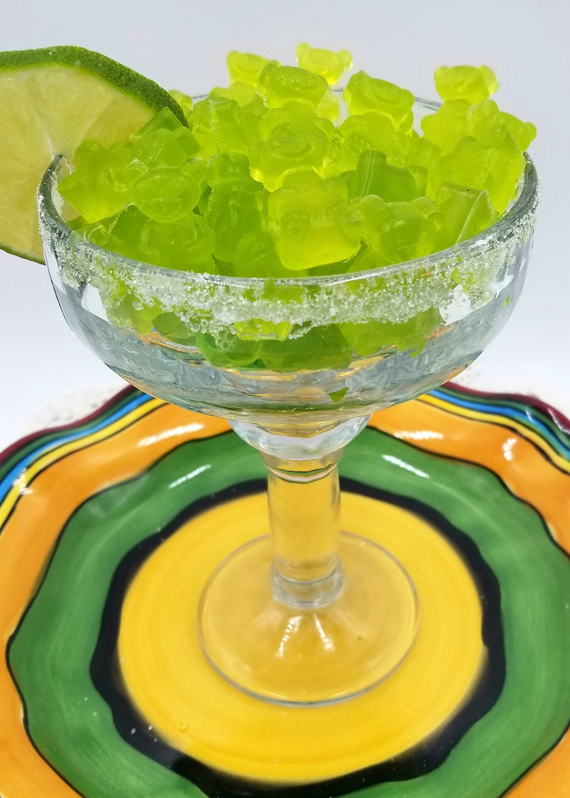 margarita jumbo gummy bear