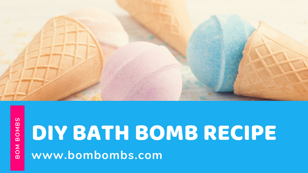 3 DIY Bath Bomb Recipes